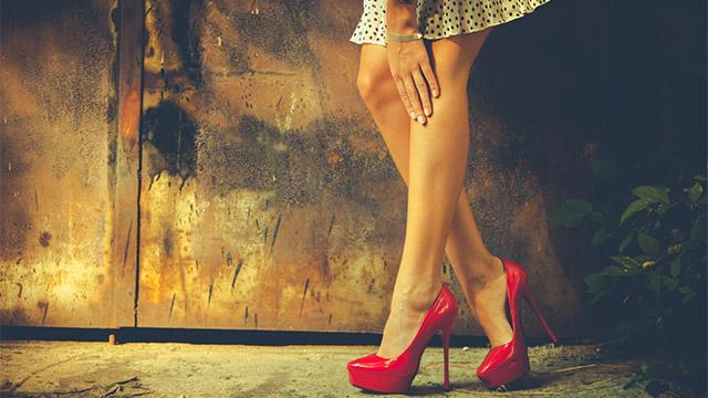 男性がNGだと思う女性の脚