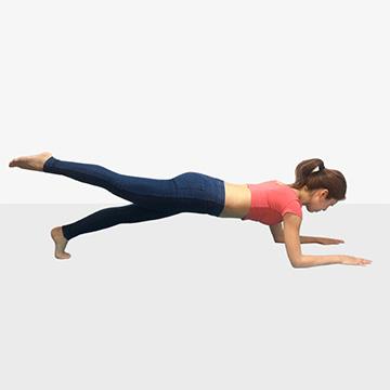 夏にかける女のダイエット強化月間!運動編「1ヶ月で痩せるためのトレーニングメニュー①プランク」